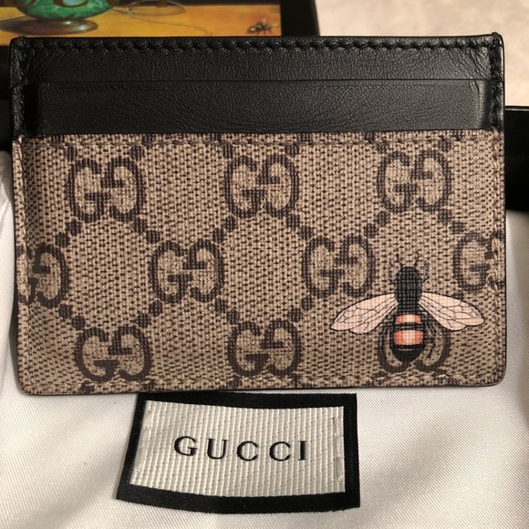 bd0240fe8443 Gucci Accessories | Supreme Gg Bee And Tiger Card Holder Wallets ...
